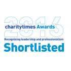 Charity Times Award 2016 – Best New Charity (Shortlisted)